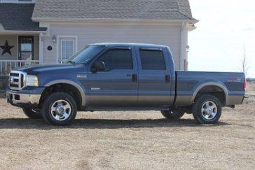 2005 Ford F250 4X4 Lariat