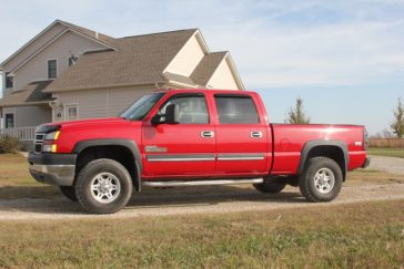 2006 Chevrolet 2500HD 4X4 LT