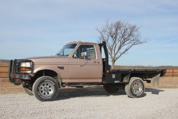 1997 Ford F350 4X4 Bale Bed